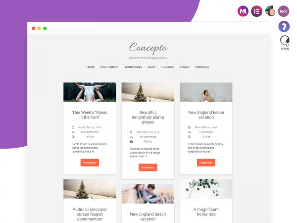 Concepto Lite WordPress Theme